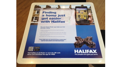 CASE STUDY: Halifax Mortgage App Tablewraps with Tabletalk Media