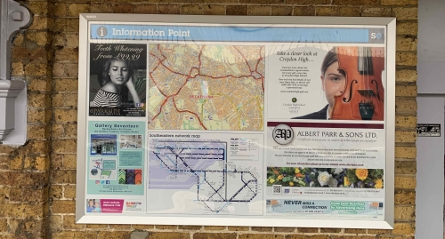 Advertise on Railway Station Information Boards Across the UK