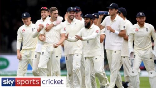 Sponsorship Opportunity - England International Cricket 2020