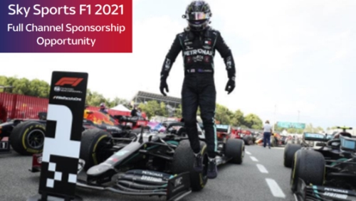 Sponsorship Opportunity - Sky Sports F1 Full Channel Sponsorship