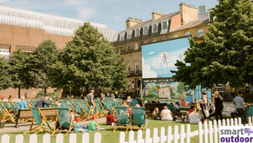 Advertise Your Brand in Newcastle with Screen on the Green