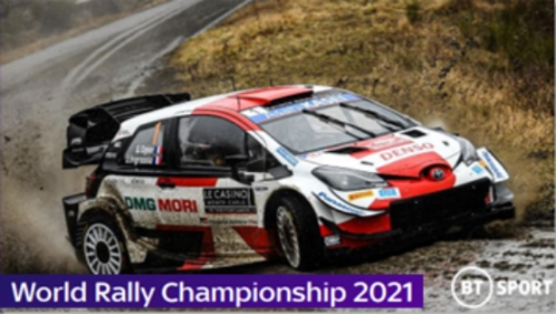 Sponsorship Opportunity - World Rally Championship on BT Sport