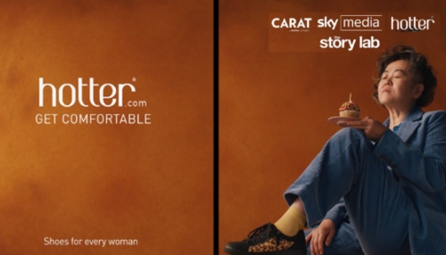 CASE STUDY: 'Get Comfortable' with Hotter and Sky Media