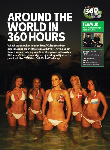 CASE STUDY: FHM 'X Box 360 Global Challenge' Campaign