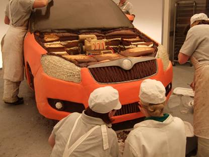 CASE STUDY: Skoda use cake to highlight the new Fabia
