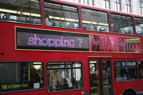 Impress London's consumers with LED Bus Superside digital ads
