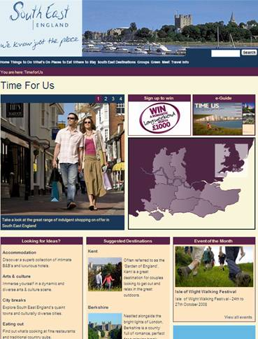 CASE STUDY: Enjoy England and Tourism South East