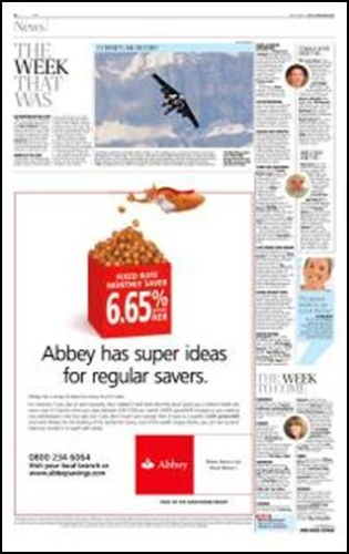 CASE STUDY: Newspapers + TV partnership delivers for Abbey
