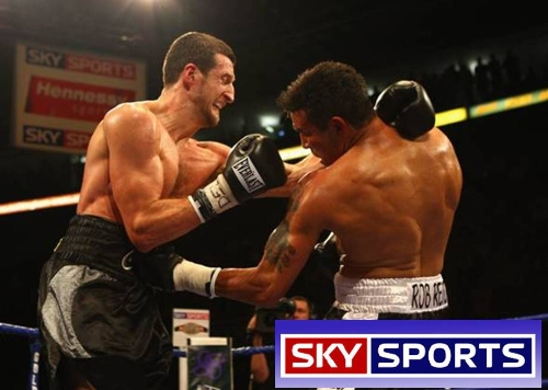 Sponsorship of Live Boxing on Sky Sports