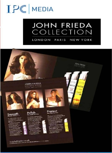CASE STUDY: John Frieda partner with Marie Claire and InStyle