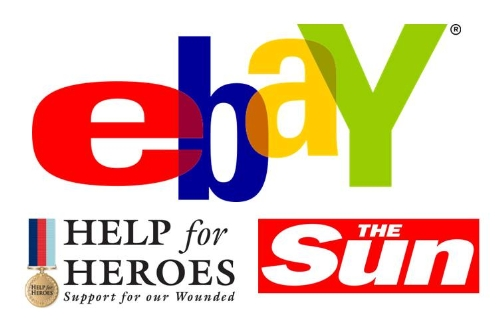 CASE STUDY: The Sun use eBay to raise money for war heroes