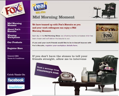 CASE STUDY Fox's Biscuits successfully target workplaces