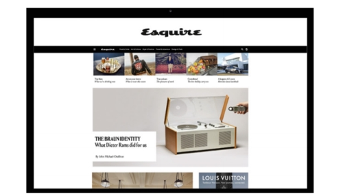 Advertise to Upmarket Men with Esquire Magazine