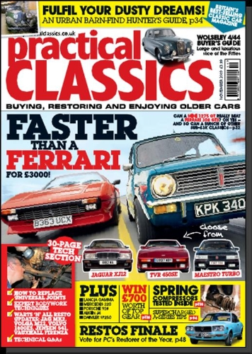 Advertise in Practical Classics - an automotive magazine