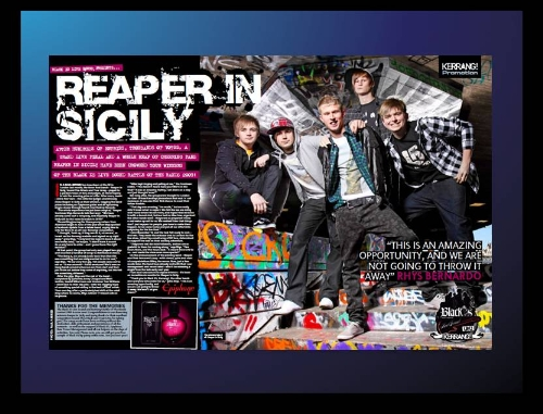 CASE STUDY: Black XS access a youth audience with Kerrang!