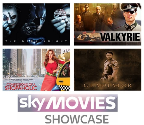Sponsor the Showcase channel from Sky Movies