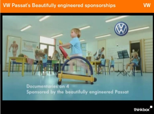 CASE STUDY: VW Passat's Beautifully engineered sponsorships