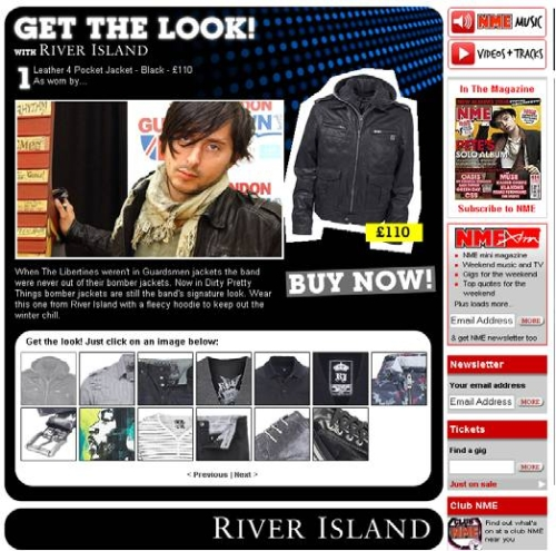 CASE STUDY: River Island in fashion with NME.com
