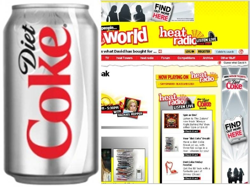 CASE STUDY: Diet Coke targets women 16-24 on Heat Radio