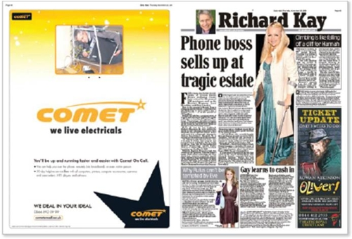 CASE STUDY:Comet soars with brand and tactical ads in newspapers