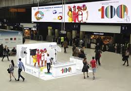 High footfall experiential opportunities at UK train stations