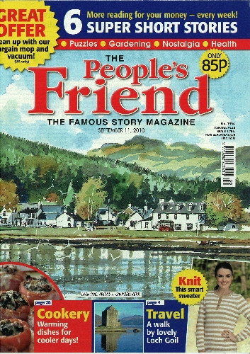 Classified holiday advertising in The People's Friend