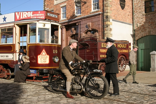 CASE STUDY: Father Christmas visits the Beamish museum