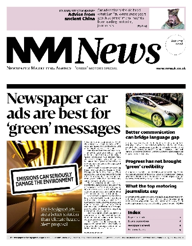 CASE STUDY: Newspapers deliver green messages for motors brands