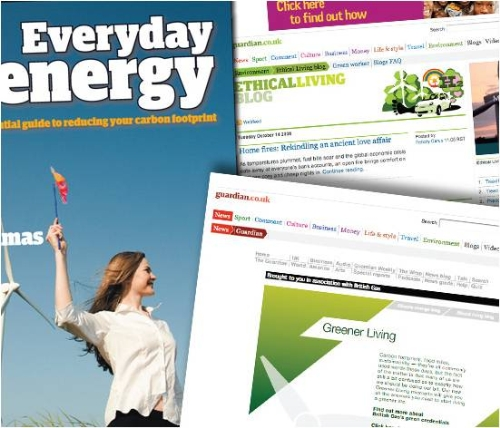 CASE STUDY: British Gas Greener Living Partnership with Guardian