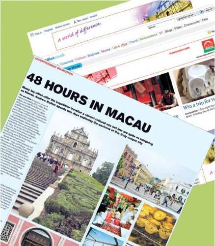 CASE STUDY: Putting the Macau Tourist Board in the map!
