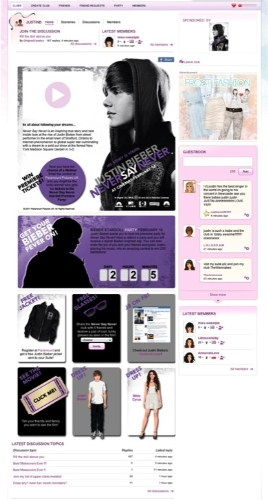 CASE STUDY Justin Bieber Ignites Stardoll with 'Never Say Never'