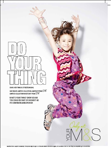 CASE STUDY: M&S launch their 'Do Your Thing' campaign with ITV