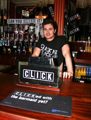 Creative solutions for your campaign in Bars, Pubs & Clubs