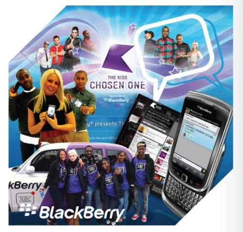 CASE STUDY: Blackberry and Kiss Radio partnership