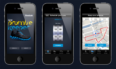 CASE STUDY: Reebok 'promise keeper' app was useful and social