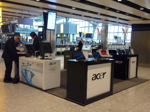 CASE STUDY: Placing the Acer Showroom in Heathrow terminal 5