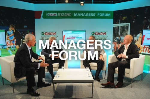 CASE STUDY: Castrol filmed Managers Forum with Premiere clubs