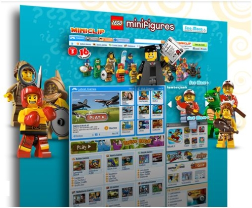 CASE STUDY: Lego Minifigures perform a takeover of Miniclip