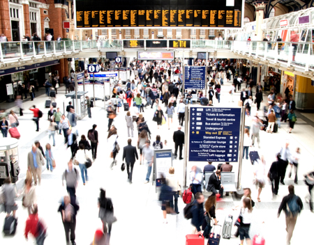Reach business and leisure travellers on their commute