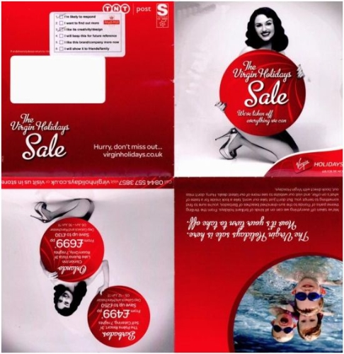 CASE STUDY: Virgin Holidays 'burlesque sale' direct mail