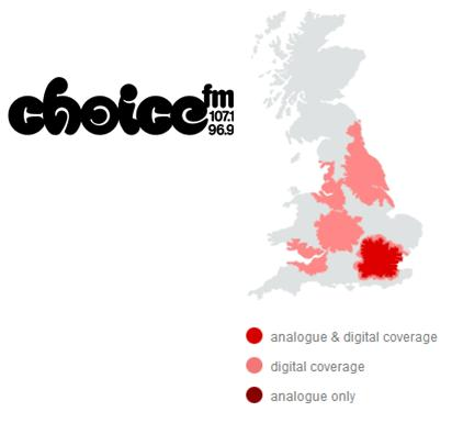 Advertise on Choice FM - London's Choice for Urban Hits