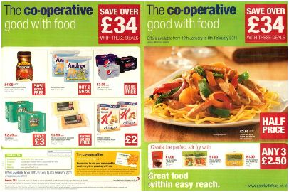 CASE STUDY: Co-operative Food door drop campaign