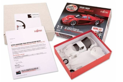 CASE STUDY: Fujitsu 'Airfix kit' direct mail and PURL campaign