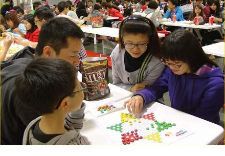 CASE STUDY: M&Ms transformed into a game of Chinese Chess
